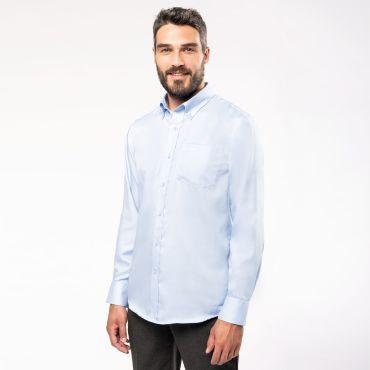 Camisa manga larga no-plancha hombre K537 Kariban