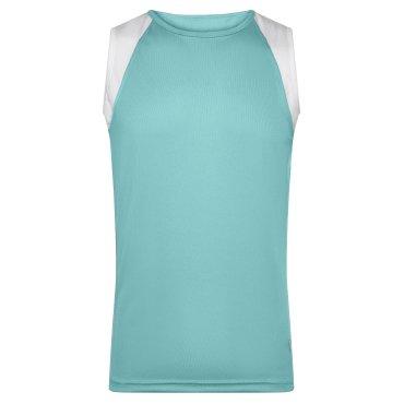 Camiseta de running sin mangas hombre JN395 James Nicholson