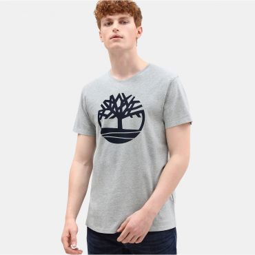 Camiseta Brand Tree orgánica orgánica serigrafiada con logo hombre BRAND TREE Timberland