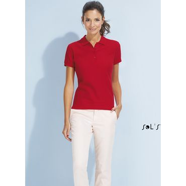 Polo pique mujer PASSION SOL'S