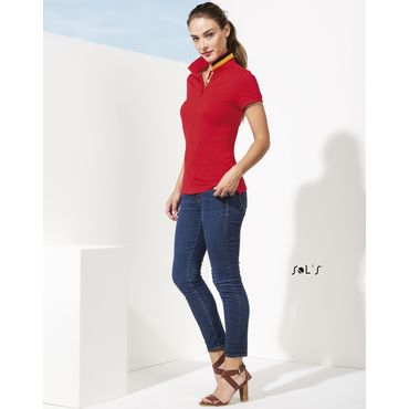 Polo pique mujer PATRIOT WOMEN SOL'S