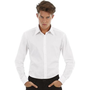 Camisa stretch ajustada hombre LONDON B&C