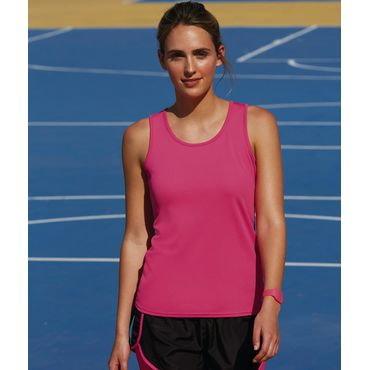 Camiseta atleta manga de tirantes mujer 61-418-0 PERFORMANCE FRUIT OF THE LOOM