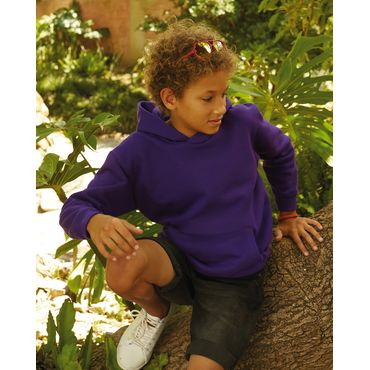 Sudadera con capucha niño 62-043-0 FRUIT OF THE LOOM