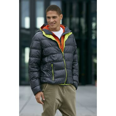 Chaqueta ultraligera hombre JN1060 DOWN James Nicholson