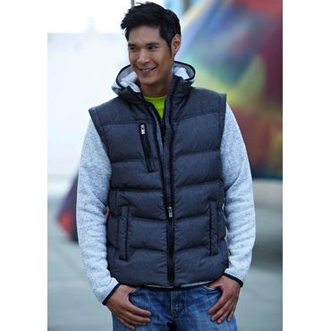 Chaqueta con mangas desmontables hombre JN1068 KNITTED James Nicholson