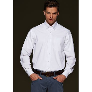 Camisa manga larga hombre JN625 BUTTON DOWN James Nicholson
