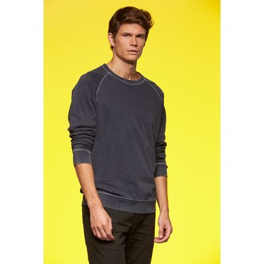 Sudadera costuras contrastadas hombre JN760 SWEAT CASUAL James Nicholson