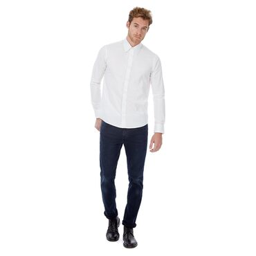 Camisa stretch de manga larga Stretch hombre LONDON MEN B&C