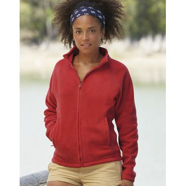 Chaqueta polar mujer 62-066-0 FRUIT OF THE LOOM