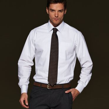 Camisa de vestir de manga larga easy care hombre JN622 NEW KNET James Nicholson