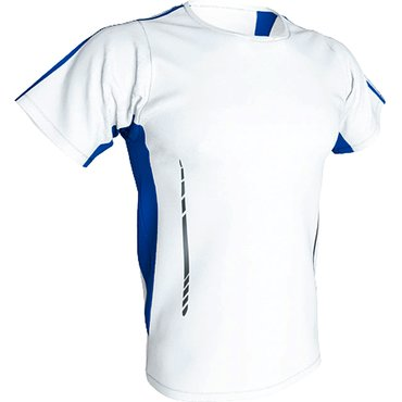 Pack 5 Uds Camiseta deportiva barata niño JAGUAR KIDS ACQUA ROYAL