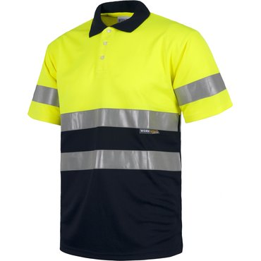 Polo de alta visibilidad workteam unisex HARRY WORKTEAM
