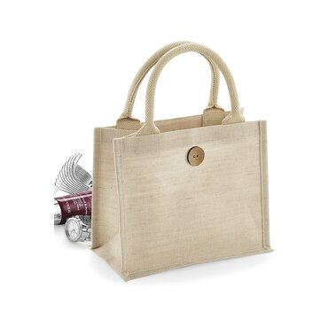 Bolso shopper de yute W441 GIFT WESTFORD MILL