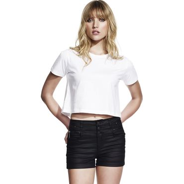 Camiseta extra corta cropped muy ligera mujer N28 CONTINENTAL