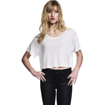 Camiseta extra corta cropped muy ligera mujer N91 CONTINENTAL
