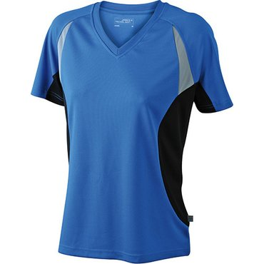 Camiseta running manga corta mujer JN390 RUN-T James Nicholson
