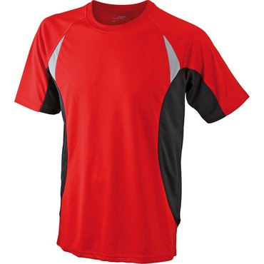 Camiseta running manga corta hombre JN391 RUN-T James Nicholson
