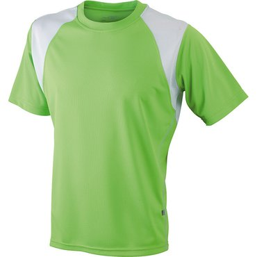 Camiseta running manga corta hombre JN397 RUN-T James Nicholson