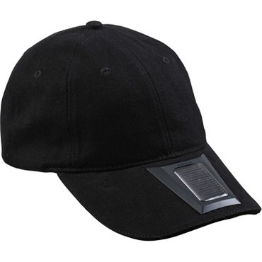 Gorra 6 paneles con led y recarga solar MB6573 LIGHT Myrtle Beach