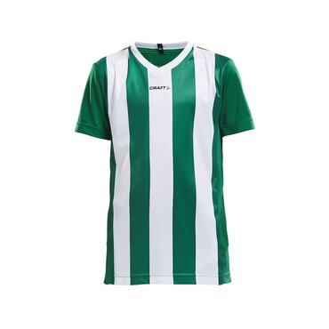 Camiseta de fútbol de rayas niño PROGRESS CRAFT