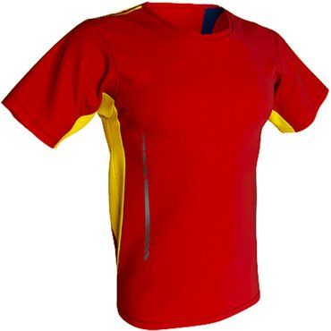 Pack 5 Uds Camiseta deportiva barata niño SPANISH KIDS ACQUA ROYAL