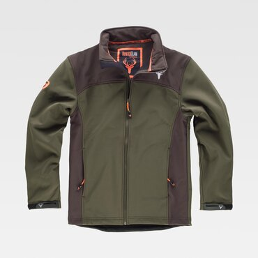 Chaqueta softshell outdoor hombre HUNTERTEAM WORKTEAM
