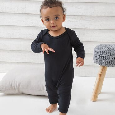Body de manga larga liso bebe ANGEL BZ13 BABYBUGZ