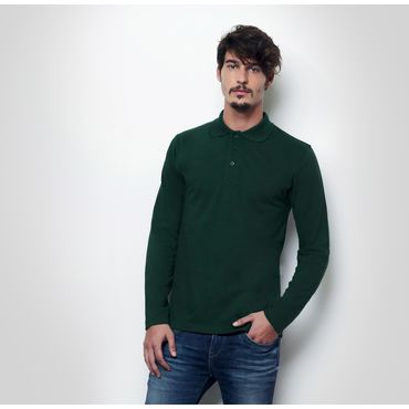 Polo manga larga pique hombre K7 LONG NATH