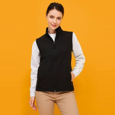 Chaleco softshell impermeable mujer RACE BW WOMEN SOL'S