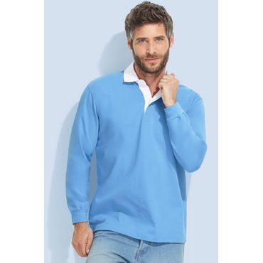 Polo rugby manga larga hombre PACK SOL'S