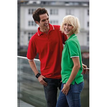Polo pique manga corta hombre JN034 TIPING James Nicholson