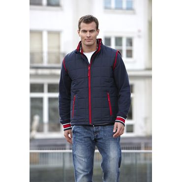 Chaleco acolchado thinsulade hombre JN1037 PADDED James Nicholson