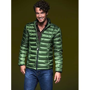 Chaqueta plumas hombre JN1082 QUILTED James Nicholson