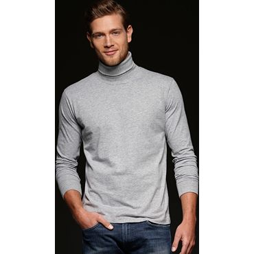 Camiseta manga larga hombre JN183 ROLLNECK James Nicholson