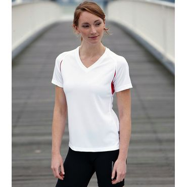Camiseta running manga corta mujer JN316 RUN-T James Nicholson