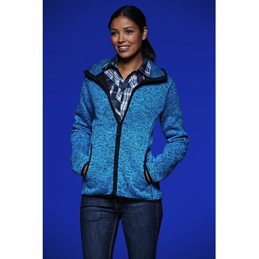 Polar con capucha mujer JN588 FLEECE James Nicholson