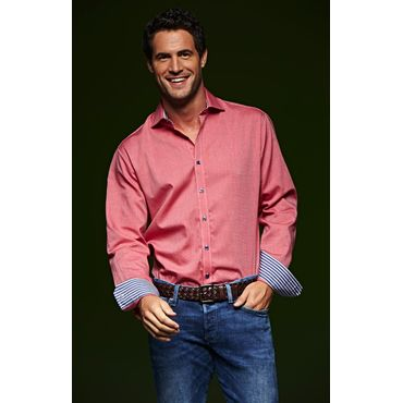 Camisa manga larga easy care hombre JN634 James Nicholson