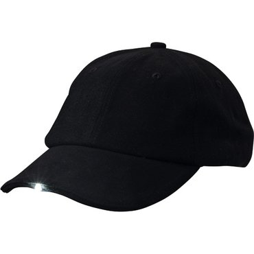 Gorra 6 paneles con led y recarga solar MB6556 LIGHT Myrtle Beach