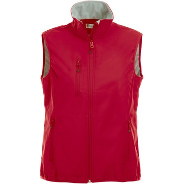 Chaleco softshell mujer BASIC SOFTSHELL VEST LADIES CLIQUE