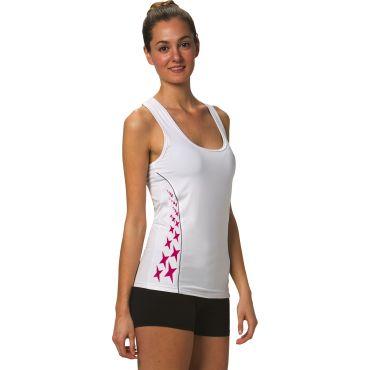 Camiseta técnica de tirantes mujer CASTELLÓN WOMAN ASIOKA