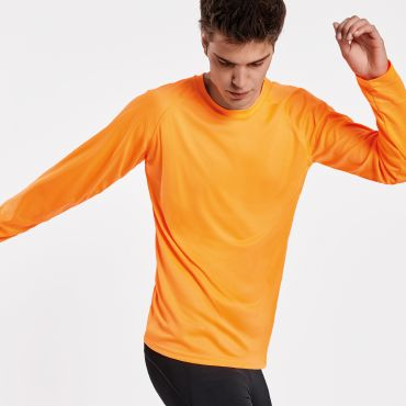 Camiseta deportiva manga larga hombre MONTECARLO LONG ROLY