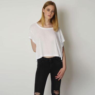 Camiseta básica mujer 80'S NATH