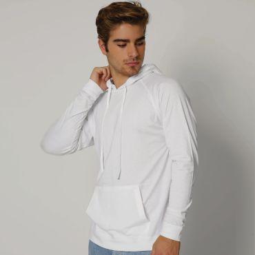 Camiseta con capucha y manga larga hombre EMO NATH