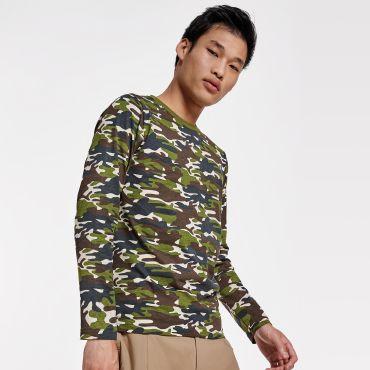 Camiseta manga larga de camuflaje hombre MOLANO ROLY