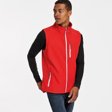 Chaleco softshell bicapa hombre NEVADA ROLY