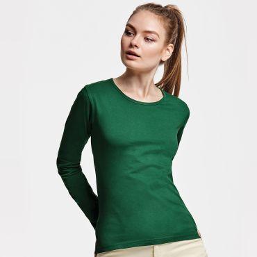 Camiseta manga larga básica mujer EXTREME WOMAN ROLY