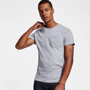 Camiseta con bolsillo hombre TECKEL ROLY