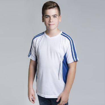 Camiseta deportiva niño JAGUAR KID ACQUA ROYAL