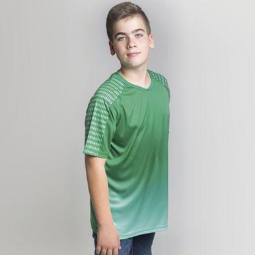 Camiseta deportiva niño POWER KID ACQUA ROYAL